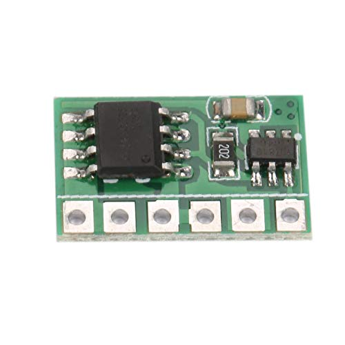 Tablero de gatillo autobloqueante, módulo de Interruptor de pestillo abatible Pestillo Duradero Disparador de autobloqueo biestable confiable 6A DC 2.5V-6V para Placa de Desarrollo MCU