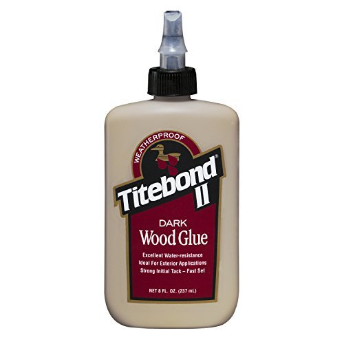 Titebond 3703 Dark Wood Glue Bottle, 8 oz. by Titebond