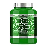 Scitec nutrition 100% whey isolate sabor de chocolate 2000 g