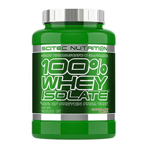 100% whey Isolate - 4.4 lbs - Chocolate - Scitec nutrition