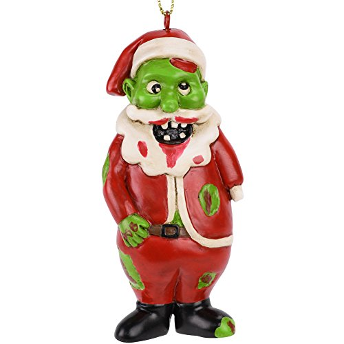 Tree Buddees Zombie Santa Claus Christmas Ornament