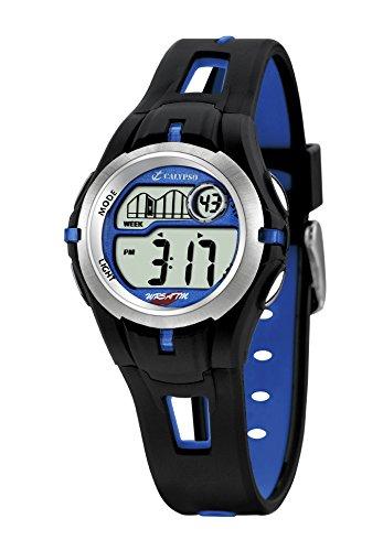 Calypso Reloj Digital para Chico de Cuarzo con Correa en Caucho K5506/3