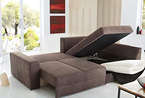 Ecksofa Couch –  günstig lifestyle4living Bild 2*