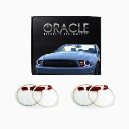 Oracle Lighting MI-LA1112-W - Mitsubishi Lancer/Evo LED Halo Headlight Rings - White