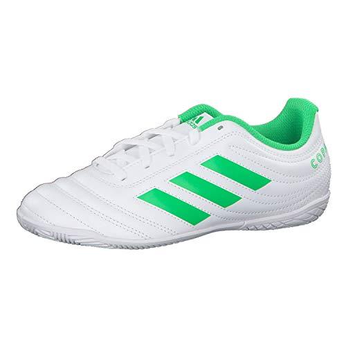 Adidas Copa 19.4 In J, Botas de fútbol Unisex niño, Multicolor (Ftwbla/Limsol/Ftwbla 000), 33 EU
