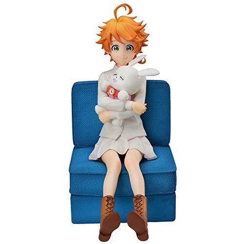 The Promised Neverland Figure, Ray Norman Emma Figure Anime Figure Cute Cartoon Action Figures (Emma)