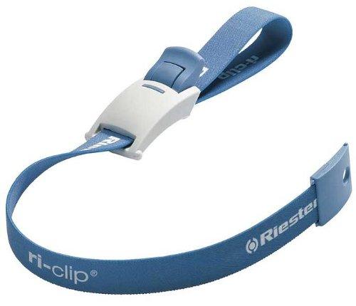 Riester 5000 ri-clip, azul, cinta con látex, en bolsa de PE