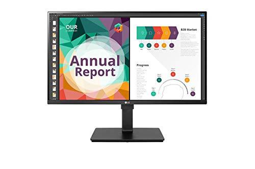 LG 32BN67U-B 80,01 cm (31,5 Zoll) UHD 4K Monitor (IPS, HDR10, 95{598d4c3d9b3e18496e469461cc55b90bea574724a2b1a53c54a9fae391c13d35} DCI-P3), schwarz