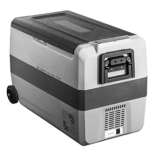 TSSM 60L Mini Electric Cooler, Coches Congelador, Compresor