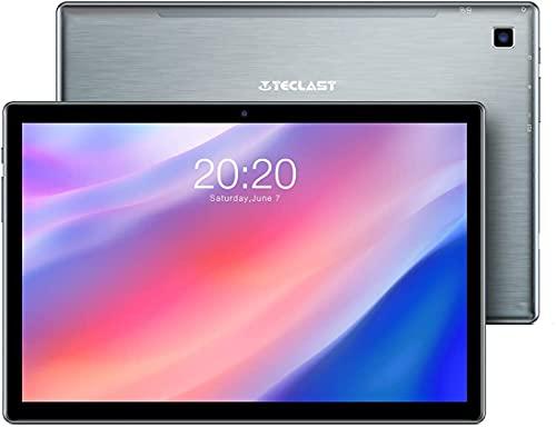 TECLAST P20HD Tablet 10.1 Pulgadas, 4GB RAM 64GB ROM + 4G LTE GPS, Octa-Core 1.6 GHz Android 10, 1920×1080 Full HD IPS, (TF de Expansión 128GB)Bluetooth 5.0/WiFi/Dual SIM/Batería 6000mAh/Carga Type C