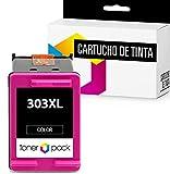 TONERPACK 1 Cartucho de Tinta para HP 303XL, Cartucho de Tinta Compatible para HP 303XL Color