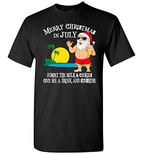 Navidad en julio piscina fiesta Santa hombres mujeres vacaciones regalo camiseta, sudadera, personalizado