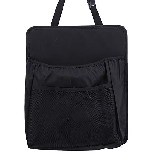 JIUZUI - Organizador para colgar en el respaldo del asiento del coche, bolsa de almacenamiento para colgar múltiples bolsillos