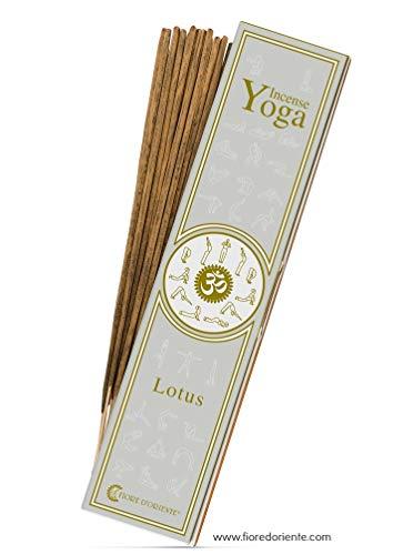 Lotus Yoga Incense 10sticks Fleur d'Orient -100% Natural-