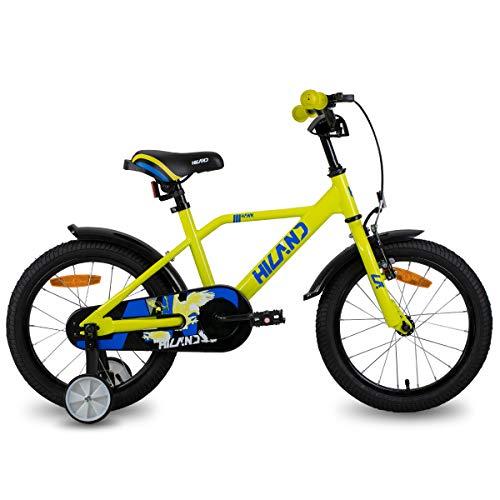 bicicletta bambini inter HILAND Adler - Bicicletta per bambini da 16 pollici