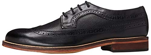 find. Herren Anton Brogues Derby, Schwarz (Smart Black), 42 EU