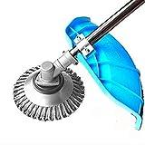 YUET - Cortador de césped universal de acero de 6 pulgadas para limpieza de...