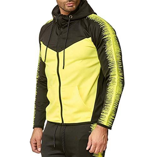 Brizz sportkleding mannen casual herfst & winter brief gedrukt mantel jassen lange mouwen hoodies vrijetijdsjas met capuchon herenjas overgangsjas wandelen sport reizen werk