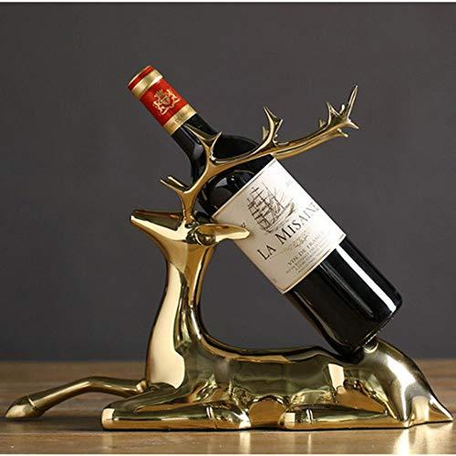 1 st Messing Wijnhouders Kast Wijnrek Woondecoratie Kamer Creatieve Decoraties Beste Kwaliteit Huis Bewegende Feestartikelen Geschenken