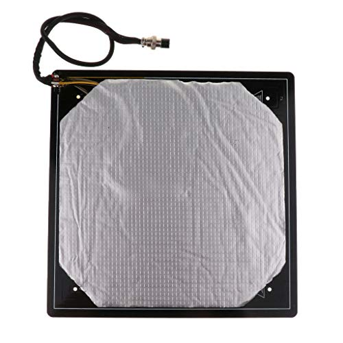 Aluminium MK3 Heated Bed 12V Heatbed Platform 310 * 310 * 3mm for Creality CR-10 CR-10S 3D Printer