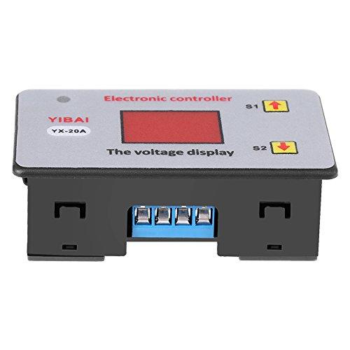 Akozon Unterspannungs-Controller, Akku, 12 V, Niedrige Spannung des Controllers bei minimaler Spannung