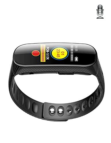 SPY TEC | Micro grabador de pulsera deportiva – hasta 20 horas de grabación continua – 8 GB de memoria