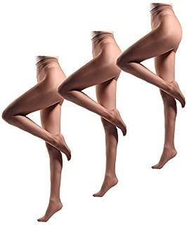JIAYI Women's Sheer To Waist Sexy Silk Pantyhose Tights From S To XXXXL