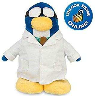 Disney Club Penguin 9'' Penguin Plush -- Gary the Gadget Guy