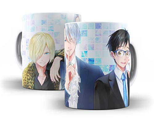 Caneca Porcelana Yuri!!! on Ice - 007362 Mimaniacos