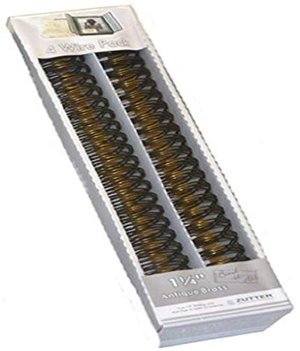Zutter Bind-it-All OWire 1,254/pkg-Antique Messing, andere, Mehrfarbig