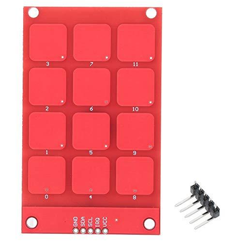 Touch-Tastatur, kapazitive Touch-Tastatur MPR121, hochempfindliche 12-Tasten-Tastatur