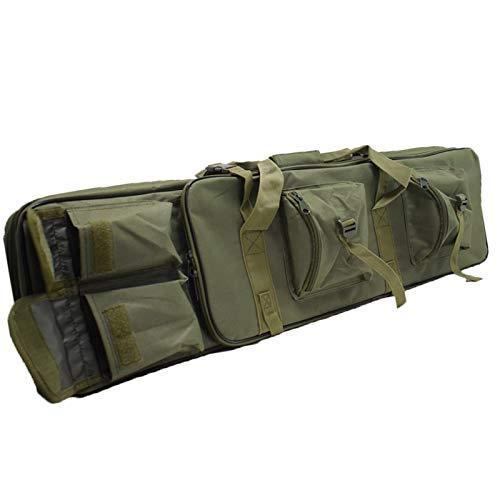 L'esterno della borsa della pistola è realizzato in un resistente tessuto in poliestere oxford 600D, impermeabile, resistente agli urti e stabile. Sono presenti cerniere resistenti in modo da poter accedere facilmente alla tua attrezzatura. FIt ha un...
