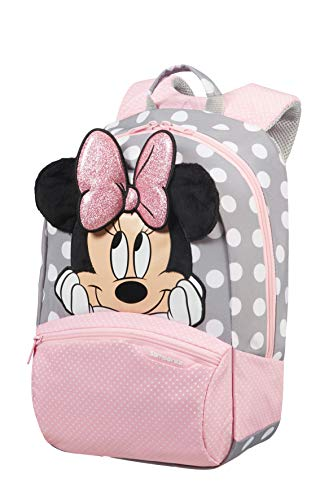 Samsonite Disney Ultimate 2.0 Zainetto per Bambini 35 cm, 12 Litri, Multicolore (Minnie Glitter), S+, Multicolore (Minnie Glitter)
