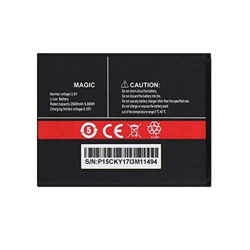 Bestome Ersatz Akku Kompatibel mit 3.8V 2350mAh Battery Magic for CUBOT Magic