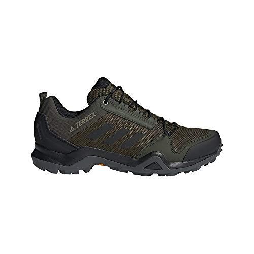 adidas Terrex AX3 GTX, Zapatillas de Hiking Hombre, CARNOC/NEGBÁS/CAQPUR, 50 2/3 EU
