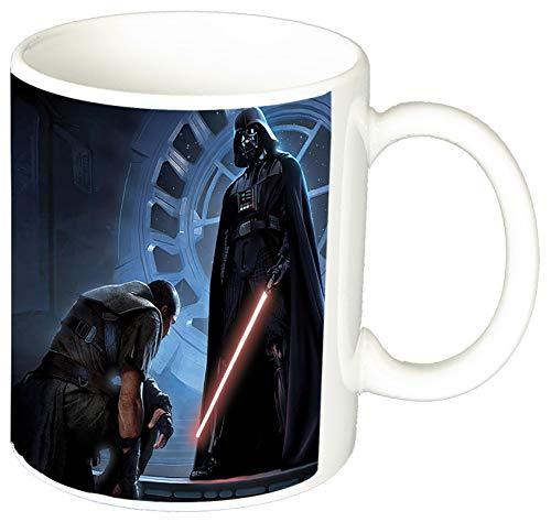 La Guerra De Las Galaxias Star Wars Darth Vader D Taza Ceramica 11 oz ≈ 325 ml