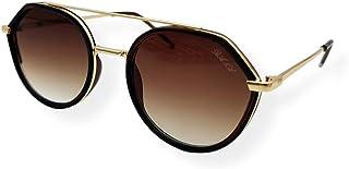 Farben Asymmetrical Frame Sunglasses 7067-C3