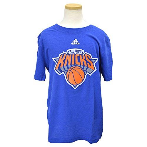 NEW YORK KNICKS Youth Niños Adidas NBA Team Logo Blue Camiseta de