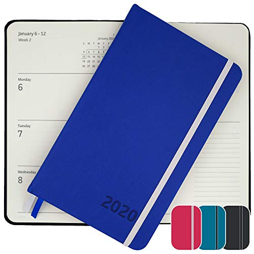 2020 Planner - Yearly, Weekly, Monthly, Daily Planner 2020-2021 with Calendar 2020-2021 Planner Organizer (Blue) | 2020 Weekly Planner 2020 Monthly Planner Yearly Planner 2020 Weekly Monthly Planner