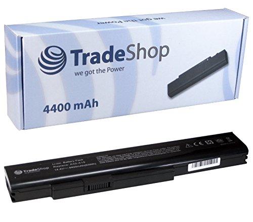 Trade-Shop Premium Li-Ion Akku 14,4V/14,8V 4400mAh für Medion MD-97888 MD-98109 MD-98383 MD-98740 MD-98780 MD-98930 MD-98980 MD-99050 MD-99090
