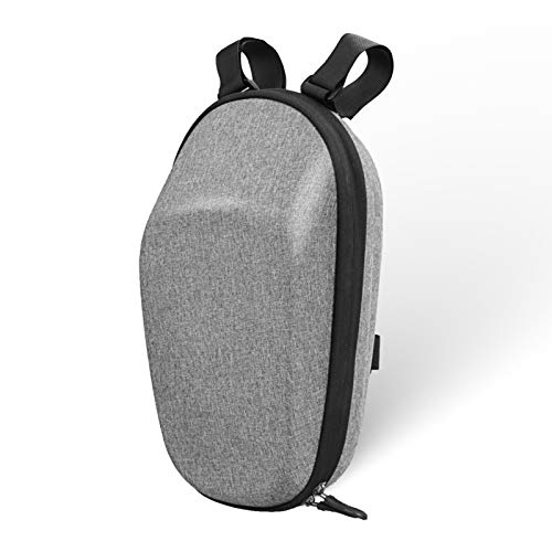 Brynnl Bolsa de almacenamiento para scooter eléctrico, bolsa de tubo delantero de...