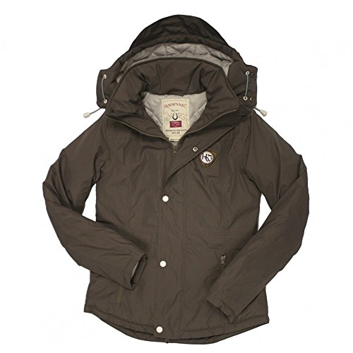 Horseware Brianna Biker-Jacke Small Earth Brown