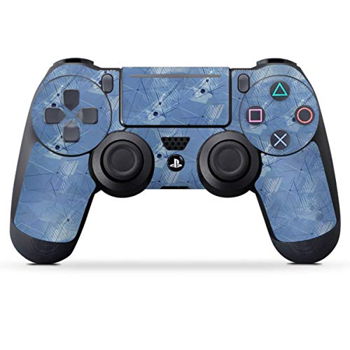 DeinDesign Skin kompatibel mit Sony Playstation 4 PS4 Slim Controller Folie Sticker Sport Fußballer American Football
