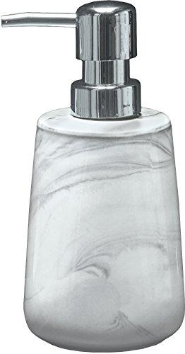 Kleine Wolke 5854901854 Marble Distributeur de Savon Pierre Anthracite 15 x 10 x 10 cm