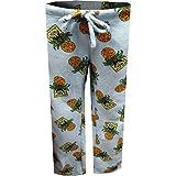 Underboss Women's SpongeBob and Pineapples Light Blue Plush Lounge Pants (Large)