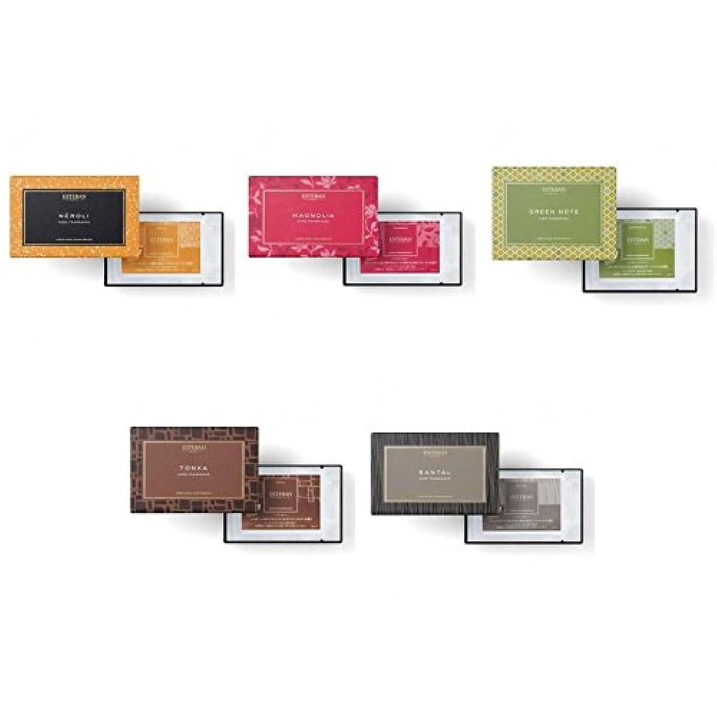 リズム壮大な高さエステバン カードフレグランス 5種セット