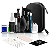 ParaPace Professional Camera Cleaning Kit (with Waterproof Case),Including Cleaning Solution/5 APS-C Cleaning Swabs/Lens Pen/Air Blower/Cleaning Cloth for DSLR Cameras(Canon,Nikon,Sony)