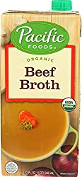Pacific Foods Organic Beef Broth, 32-Ounce Carton