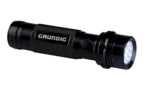 GRUNDIG 27157Taschenlampe, 14LED, 3Batterien AAA, Aluminium