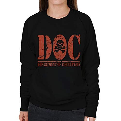 Cloud City 7 DOC Department of Corruption Women's Sweatshirt